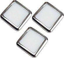 3 Pack | Square LED Mini Plinth Light & Driver Kit