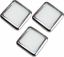 3 Pack | Square LED Mini Plinth Light & Driver Kit