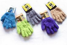 3 Pairs Microfiber Anti-Dust Cleaning Gloves