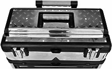 3-Part Rolling Tool Box with 2 Wheels QAH03500