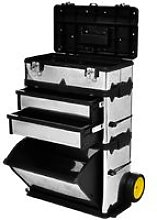 3-Part Rolling Tool Box with 2 Wheels VD03500