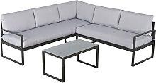 3 Pcs Garden Furniture Conversation Set w/