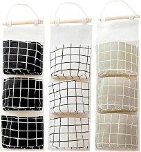 3 Pcs Hanging Bag Hanging Storage Bag, Foldable