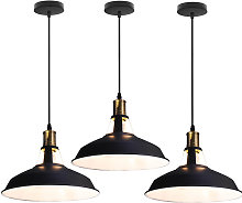 3 pcs Retro industrial metal adjustable decorative