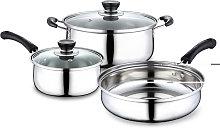 3 Pcs / Set Stainless Steel Kitchenware Polish