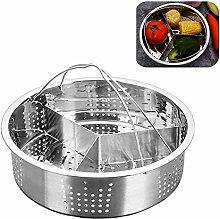 3 Pcs Set Steamer Basket Rack Set for Instant Pot