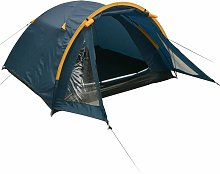 3-person Tent Blue QAH32247 - Hommoo