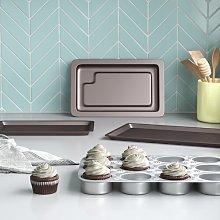 3 Piece Non-Stick Bakeware Set Wayfair Basics