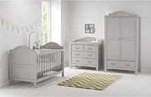 3 Piece Nursery Furniture Set in Grey - East Coast