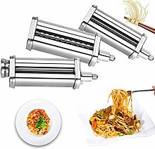 3 Piece Pasta Maker Roller and Cutter Attachment