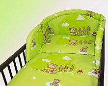 3 Piece pc pcs BABY BEDDING SET COT QUILT DUVET