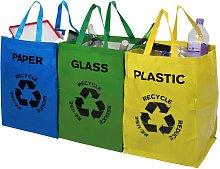 3 Piece Recycling Bag Set Symple Stuff