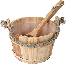 3 Piece Sauna Bucket Set Symple Stuff