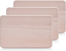 3 Piece Wood Chopping Board Set Zeller