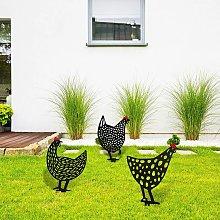 3 Pieces Chicken Yard Garden Decoration Chicken