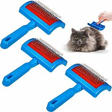 3 Pieces Faux Sheepskin Rug Brush Cleaner Pet