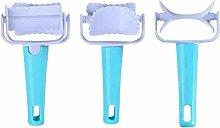 3 Pieces/Set Fondant Dough Roller Practical