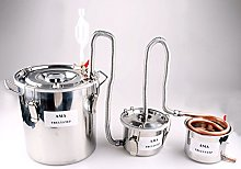 3 Pots DIY Home Distiller Moonshine Still