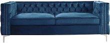 3 Seater Chesterfield Sofa BelleFierté Upholstery