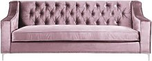 3 Seater Chesterfield Sofa BelleFierté Upholstery
