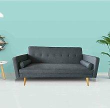 3 Seater Sofa Bed - Onesize - Grey