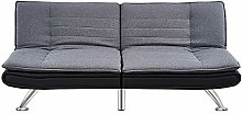 3 Seater Sofa Bed Padded Settee Recliner Couch