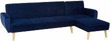 3 seater sofas Navy Blue Sofa Beds Velvet Sofa