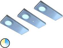 3-set Tain LED under-cabinet light colour switch