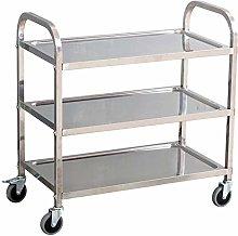 3 Shelf Stainless Steel Service Trolley Kitchen