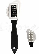 3-Side Cleaning Brush Kit for Suede Leather Nubuck