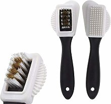 3 Side Portable Size Handheld Cleaning Brush for