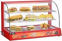 3-Tier Commercial Food Warmer, 95x46x60cm
