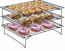 3 Tier Cooling Racks Baking Rack Cake Cooling Tray