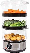 3 Tier Food Steamer / 6 Litre/Compact Design / 3