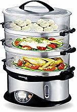 3-Tier Food Steamer, SUMLINK 3 Tier BPA Free