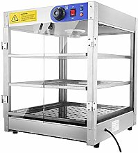 3 Tier Food Warmer Commercial Pie Pizza Cabinet