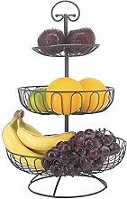 3 Tier Fruit Basket Bowl, Countertop Fruit Stand