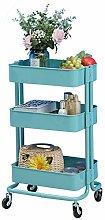 3-Tier Kitchen Storage Trolleys Removable Storage