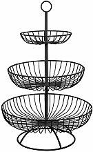 3 Tier Metal Fruit Basket, Fruit Basket Stand,