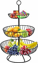 3 Tier Metal Fruit Basket, Fruit Basket Stand,
