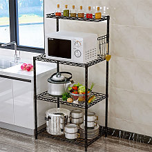 3 Tier Microwave Oven Rack Shelf Organiser Holder
