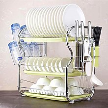 3 Tiers Dish Drying Rack Kitchen Washing Holder