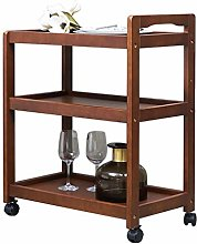 3 Tiers Serving Trolley Tea Cart Restaurant
