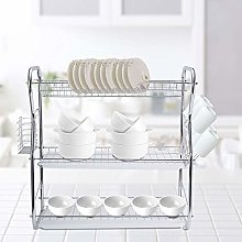 3 Tiers Stainless Steel Kitchen Dish Drying Rack