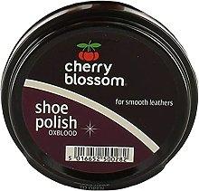 3 Tins Ox Blood Cherry Blossom Shoe boot Polish