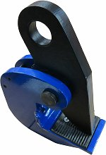 3 Ton 0-45MM Horizontal Plate Lifting Clamp - 3000KG Grip Lift