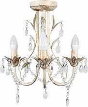 3 Way Chandelier with Acrylic Jewel Beads -