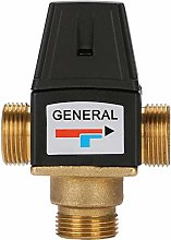 3 Way DN20 Male Thread Brass Thermostatic Mixing