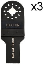 3 x 20mm Saxton Blades for Fein Multimaster Bosch,