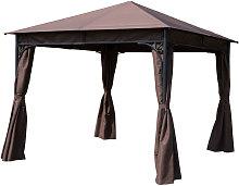 3 x 3m Garden Metal Gazebo Marquee Party Tent